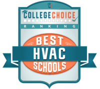 Best HVAC school badge