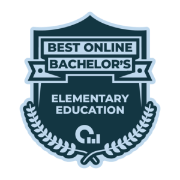 Best Online Bachelor's Degree badge