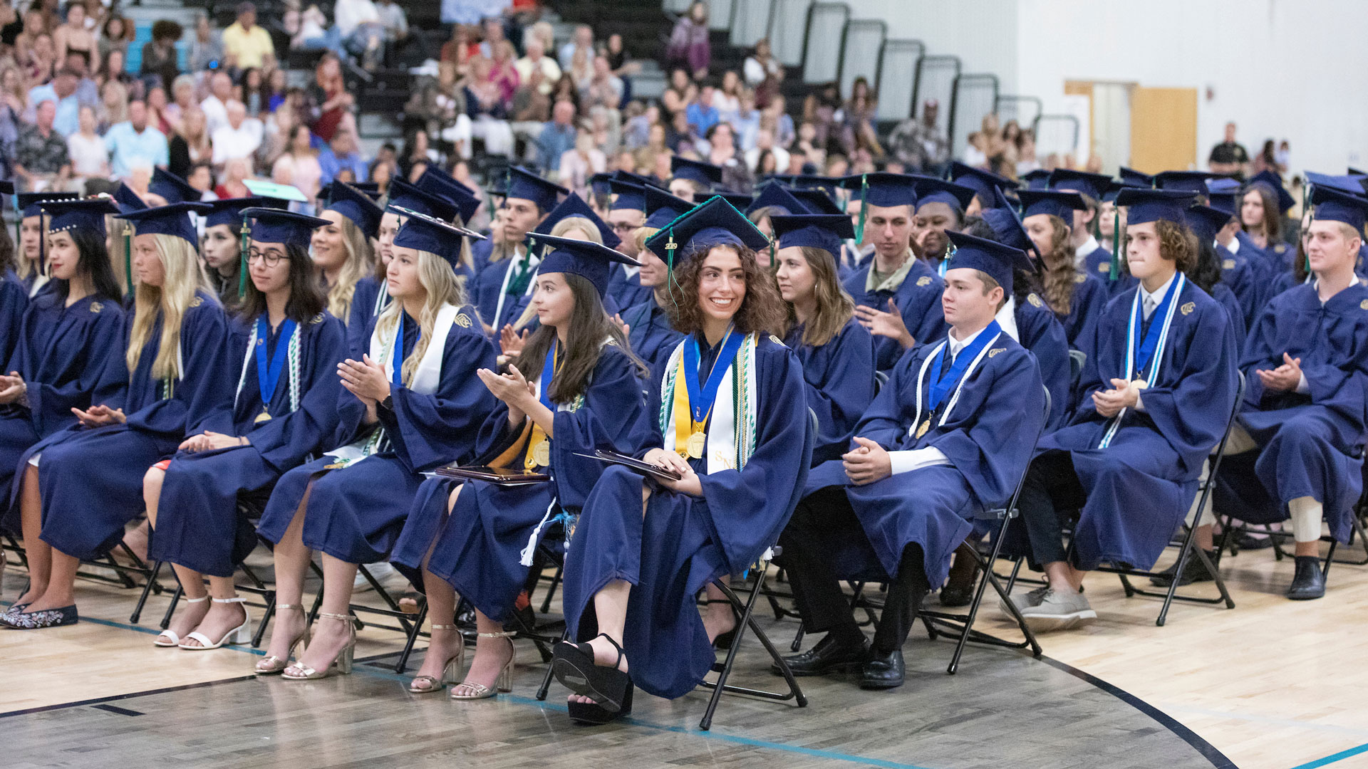 Students participate in the 2019 Clark Advanced Learning Center Graduation held Saturday, May 25.