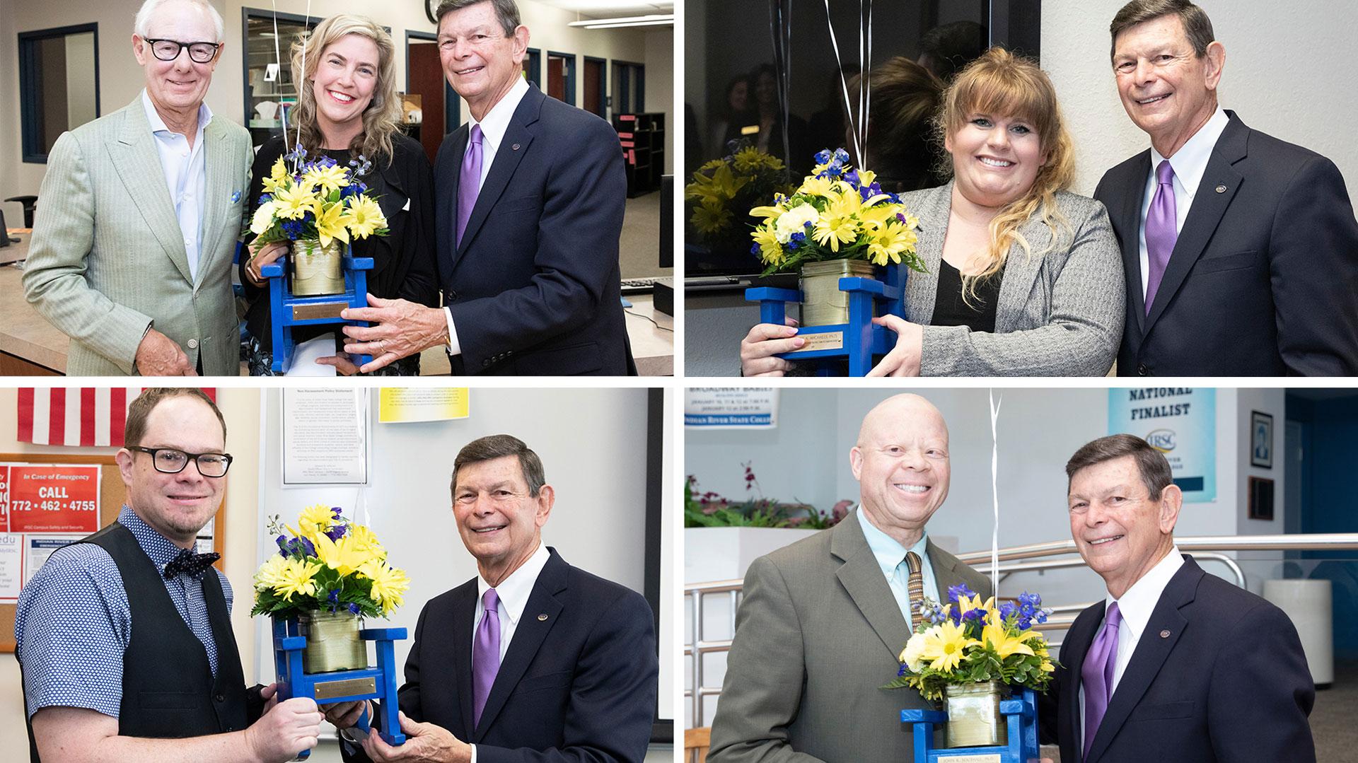 2019 Endowed Teaching Chair recipients.
