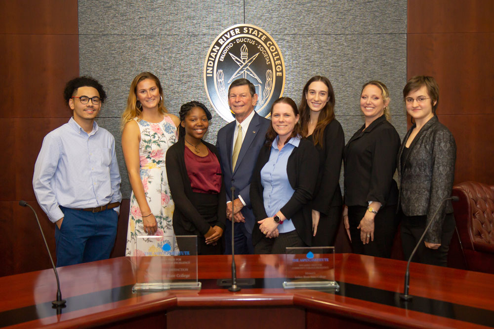 Ten high achieving students at IRSC were selected to the 2019 All-Florida Academic Team by the Florida College System in Tallahassee.