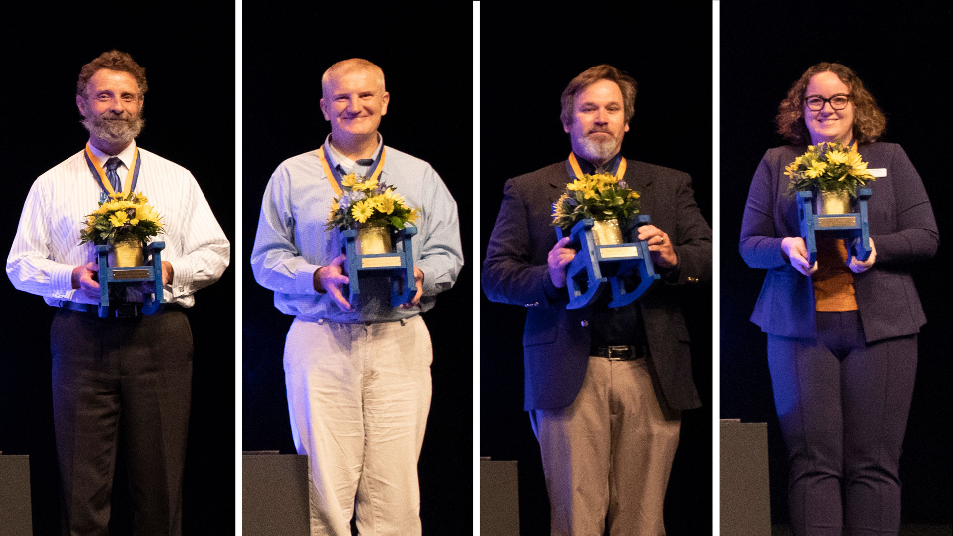 Four IRSC professors were named Endowed Teaching Chairs by the IRSC Foundation
