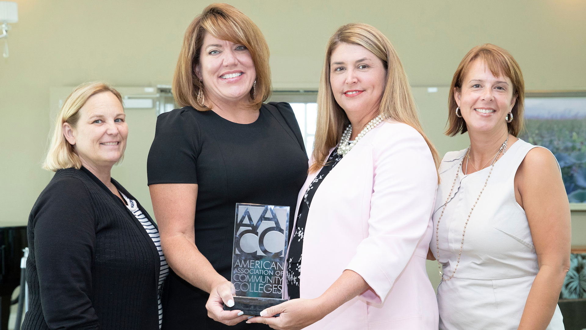 IRSC was named a national finalist for the 2019 American Association for Community Colleges (AACC) Outstanding College/Corporate Partnership Award