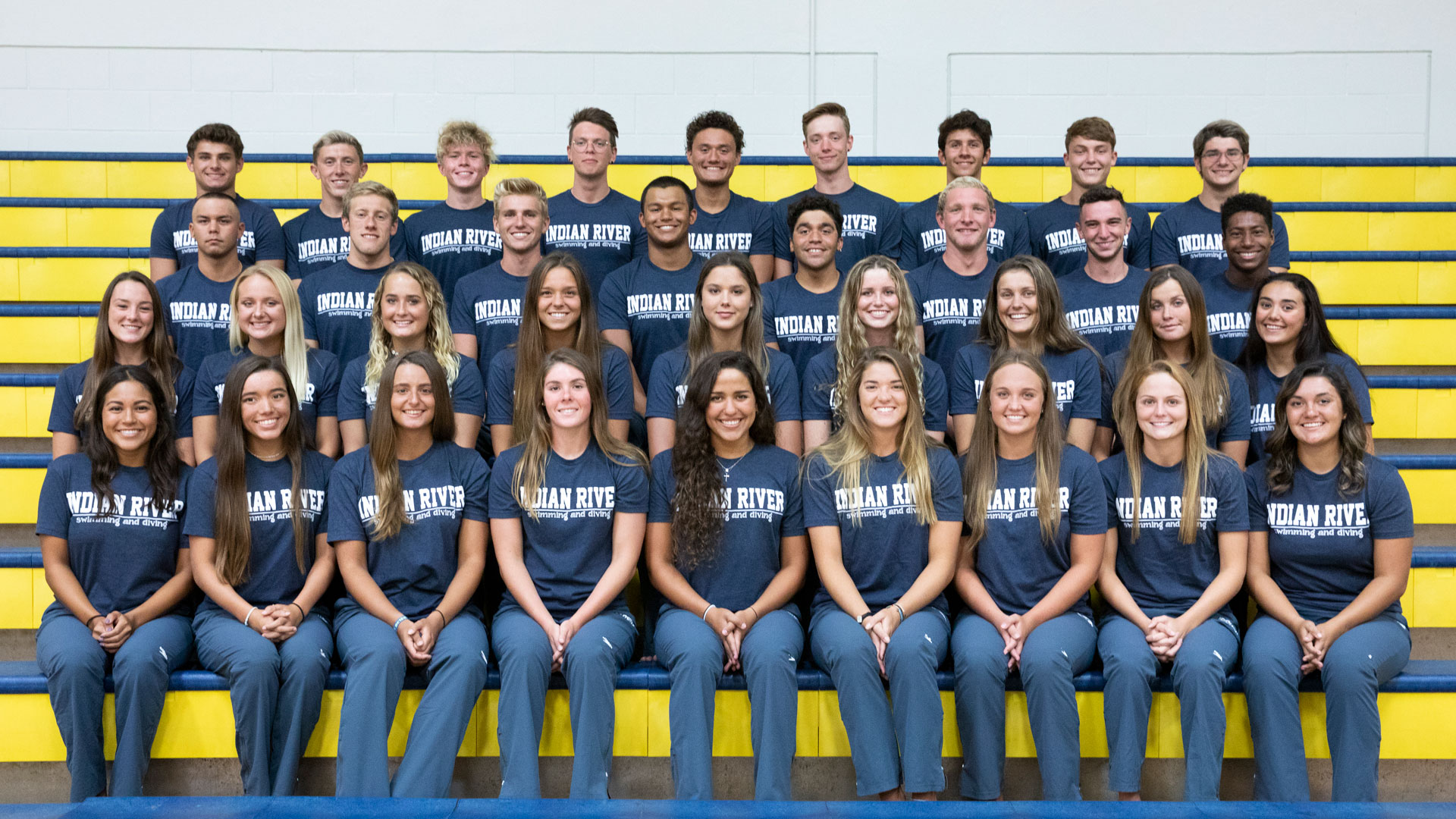 IRSC 2019-2020 Swimming and Diving Team