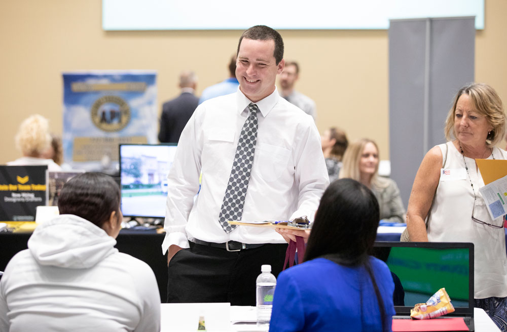 Businesses seeking educated and highly skilled employees are encouraged to participate in a Job Fair at IRSC Dixon Hendry Campus in Okeechobee on Tuesday, February 12, from 10:30 a.m. to 1:30 p.m.