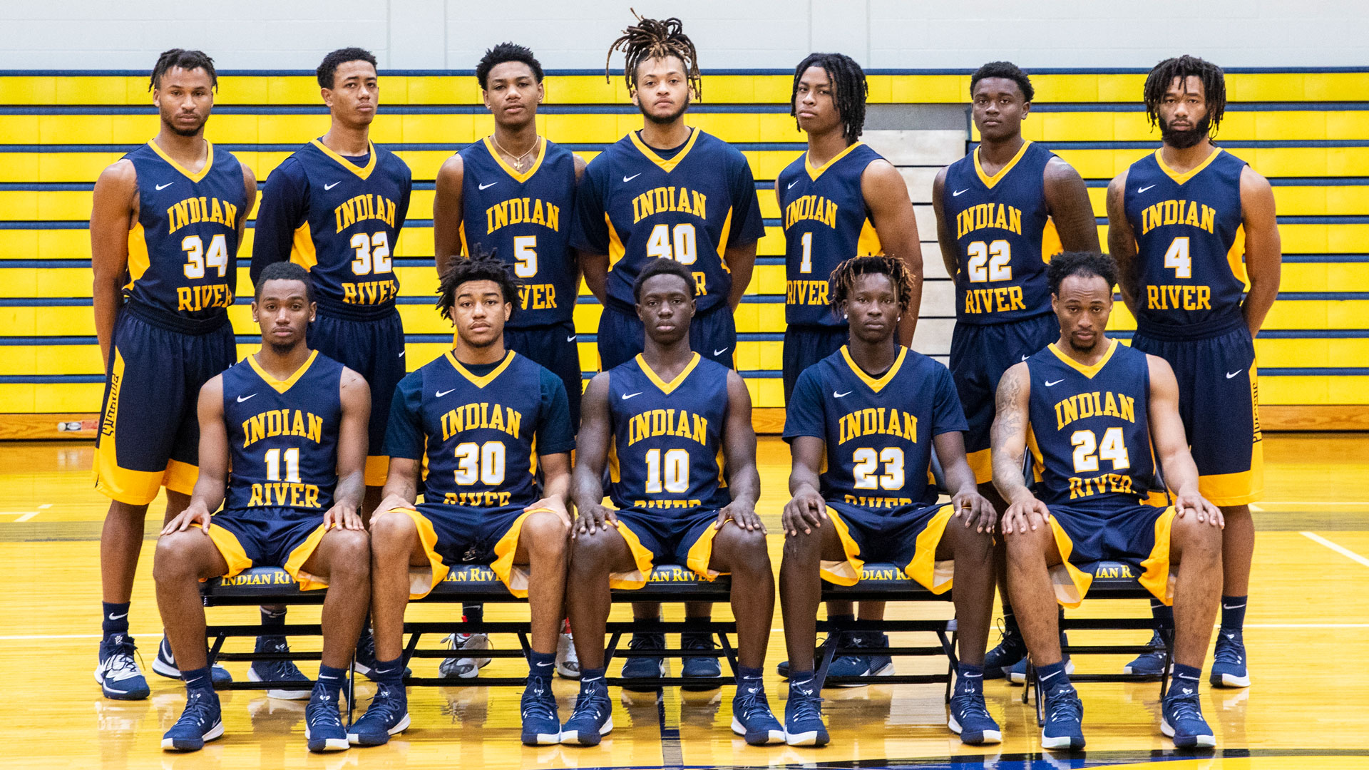 the 2020-21 IRSC Men's Basketball team